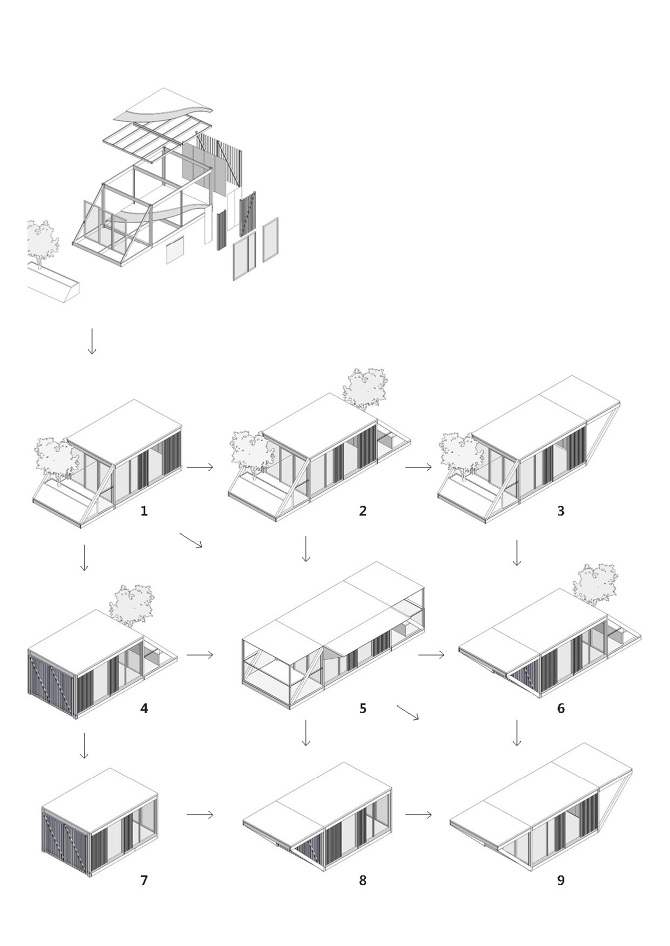 P a r t prefabricated apartment remodeling type dioinno for Architectural concepts types