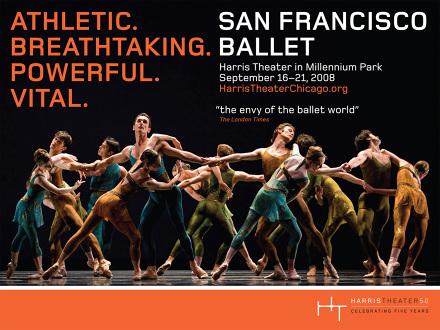 San Francisco Ballet Logo San Francisco Ballet Poster